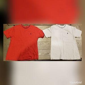 Bundle- Polo by Ralph Lauren V-Neck Shirts